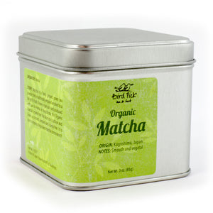 Organic Matcha Tea Tin