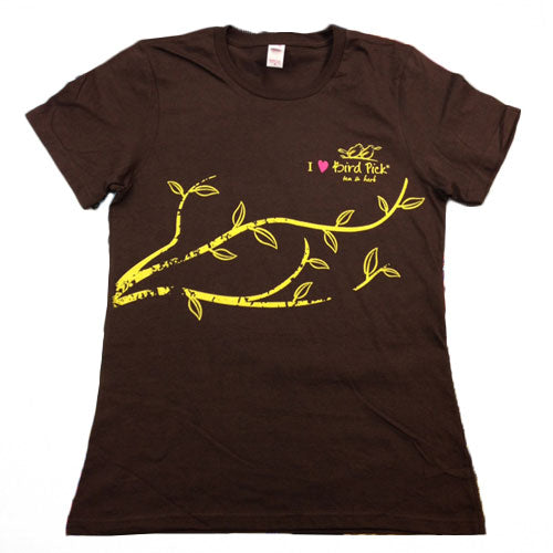 Bird Pick T-Shirts - Womens