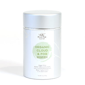 Organic Cloud & Fog Green Silver Tin Collection