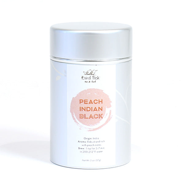 Peach Indian Black Silver Tin Collection