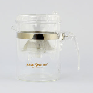 "Kamjove TP-140 S ""Press Art"" Tea Cup Transparent"