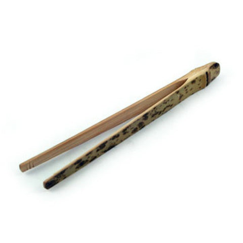 Spotted Wooden Tea Tong