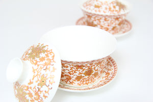 Ceremonial Porcelain Gaiwan Set