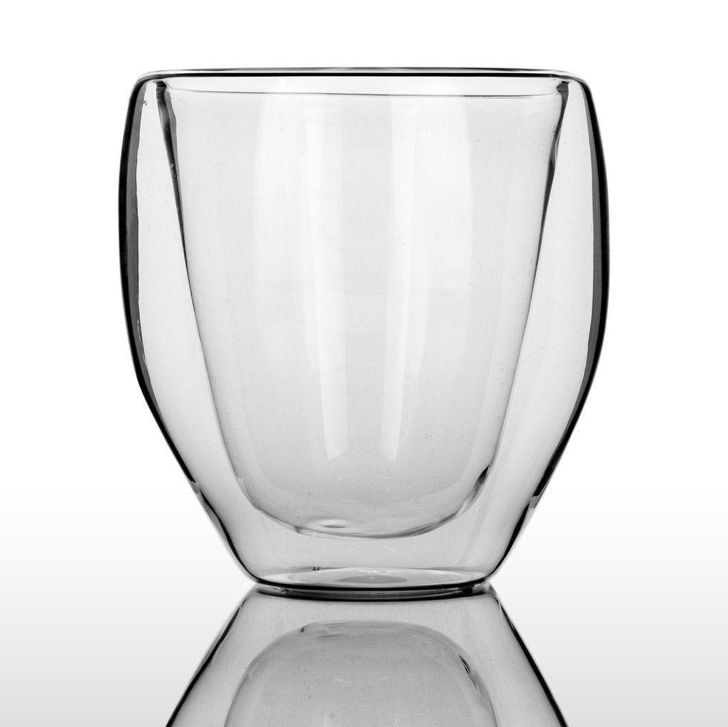 Tall Glass Bubble Cup