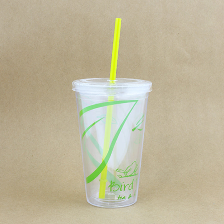BP Acrylic Tumbler with Straw