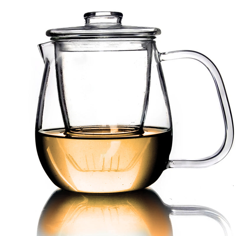 Exhibit Glass Tea Pot
