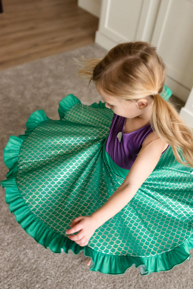 Mermaid Twirl Dress