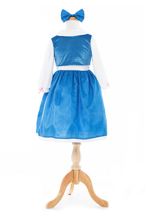 Beauty Day Dress with Bow (Larger Sizes Available)