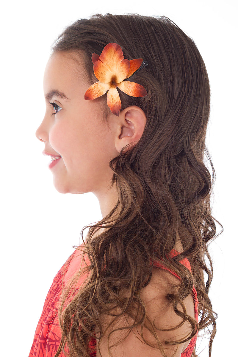 Island Princess with Hair Clip (Larger Sizes Available)