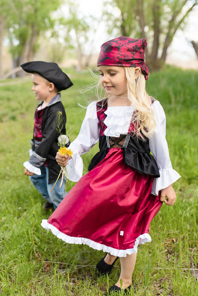 Load image into Gallery viewer, Pirate Dress with Bandana