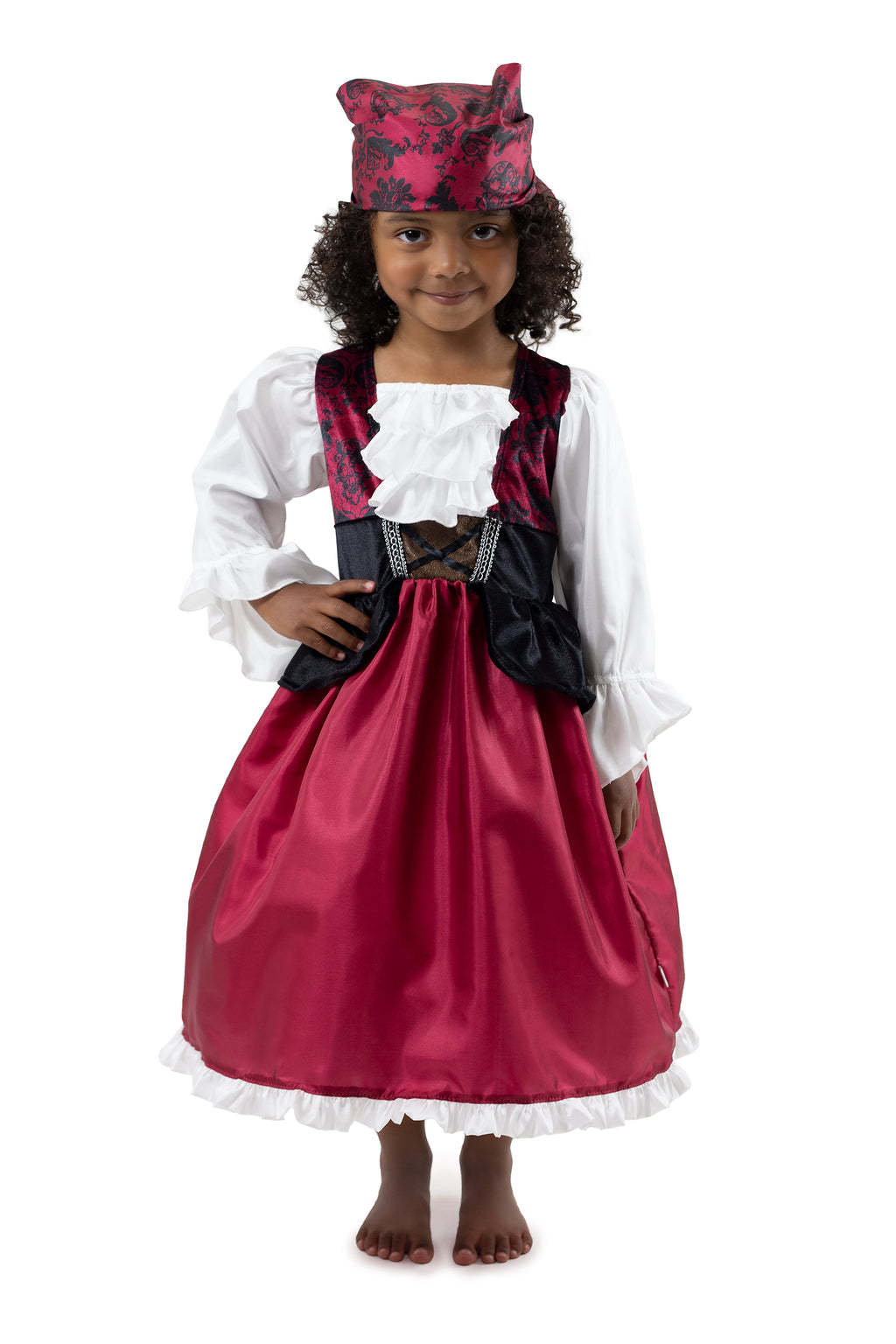 Pirate Dress with Bandana