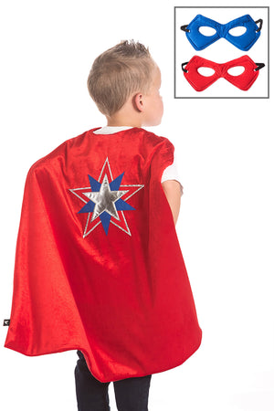 American Hero Cape & Mask Set