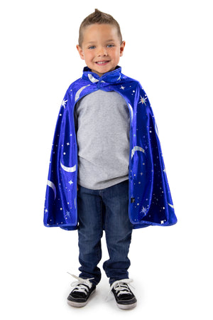 Load image into Gallery viewer, Wizard Cape Royal Blue