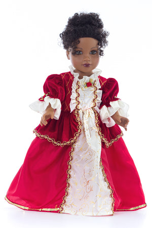 Doll Dress Winter Beauty