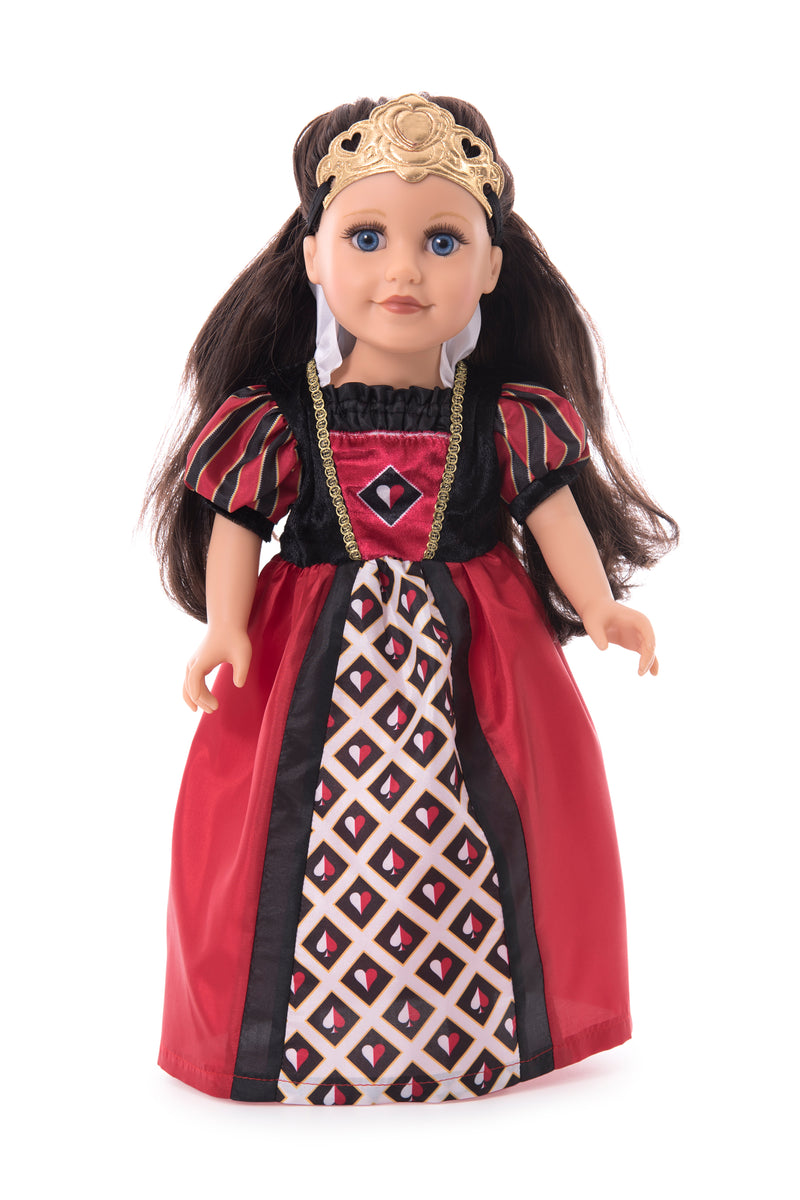 Queen of Hearts with Soft Crown Doll