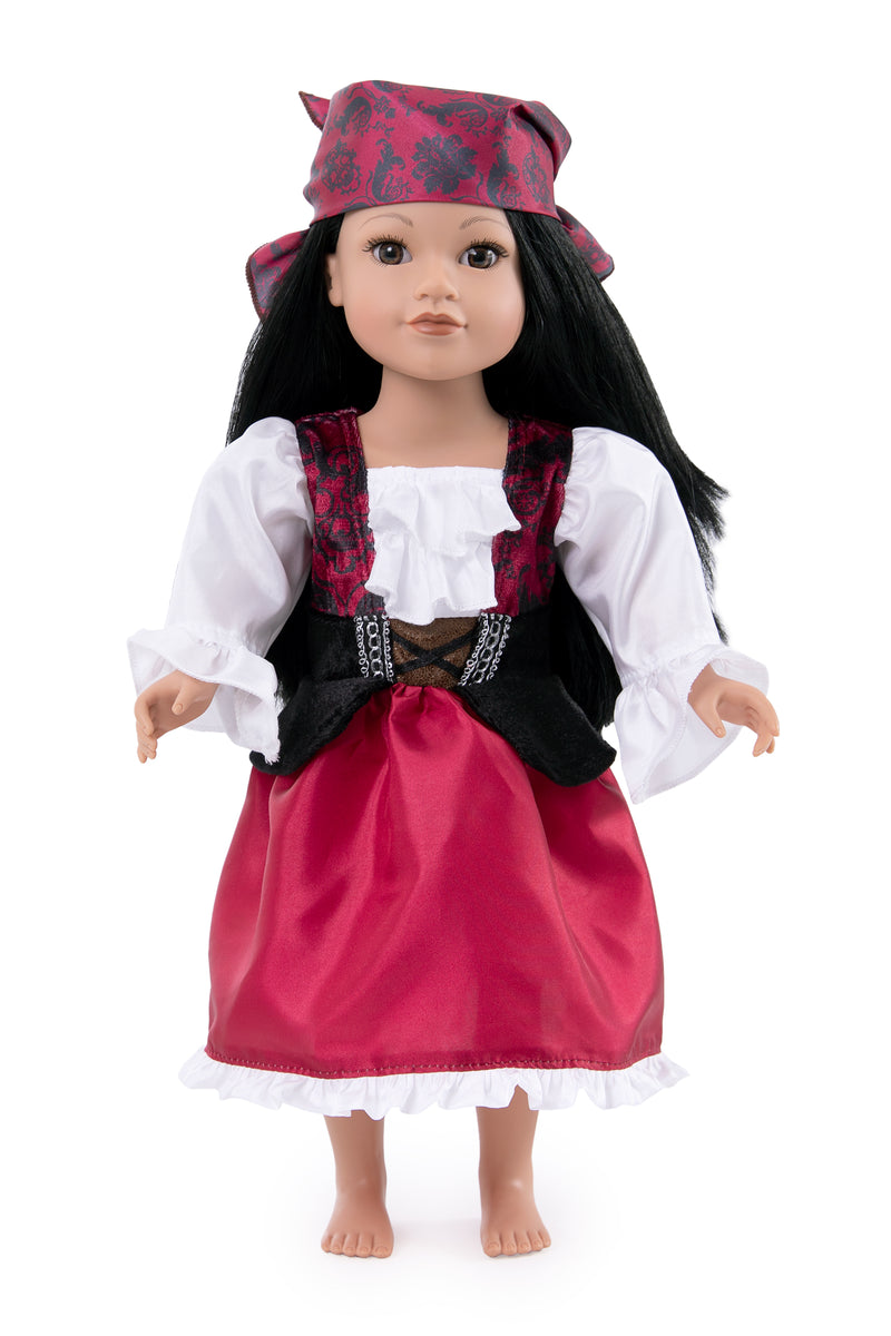 Doll Dress Pirate with Bandana