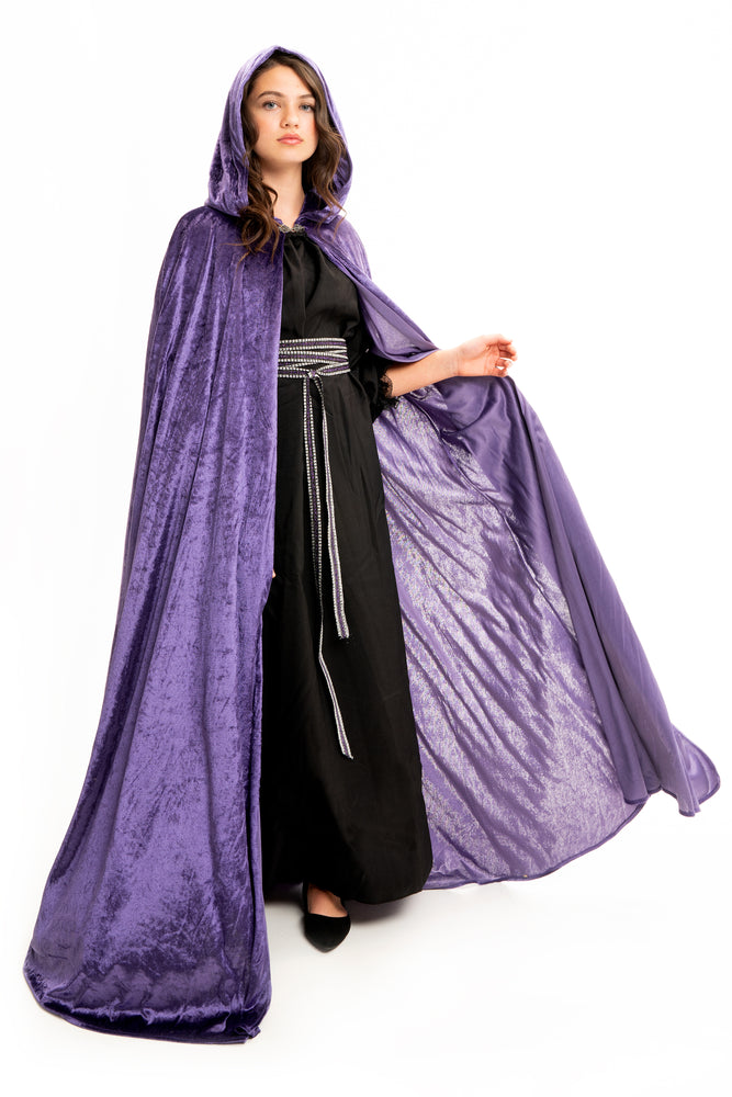 Adult Dark Purple Cloak