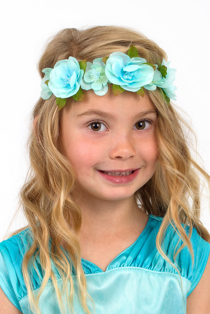 Enchanted Rainbow Flower Headbands