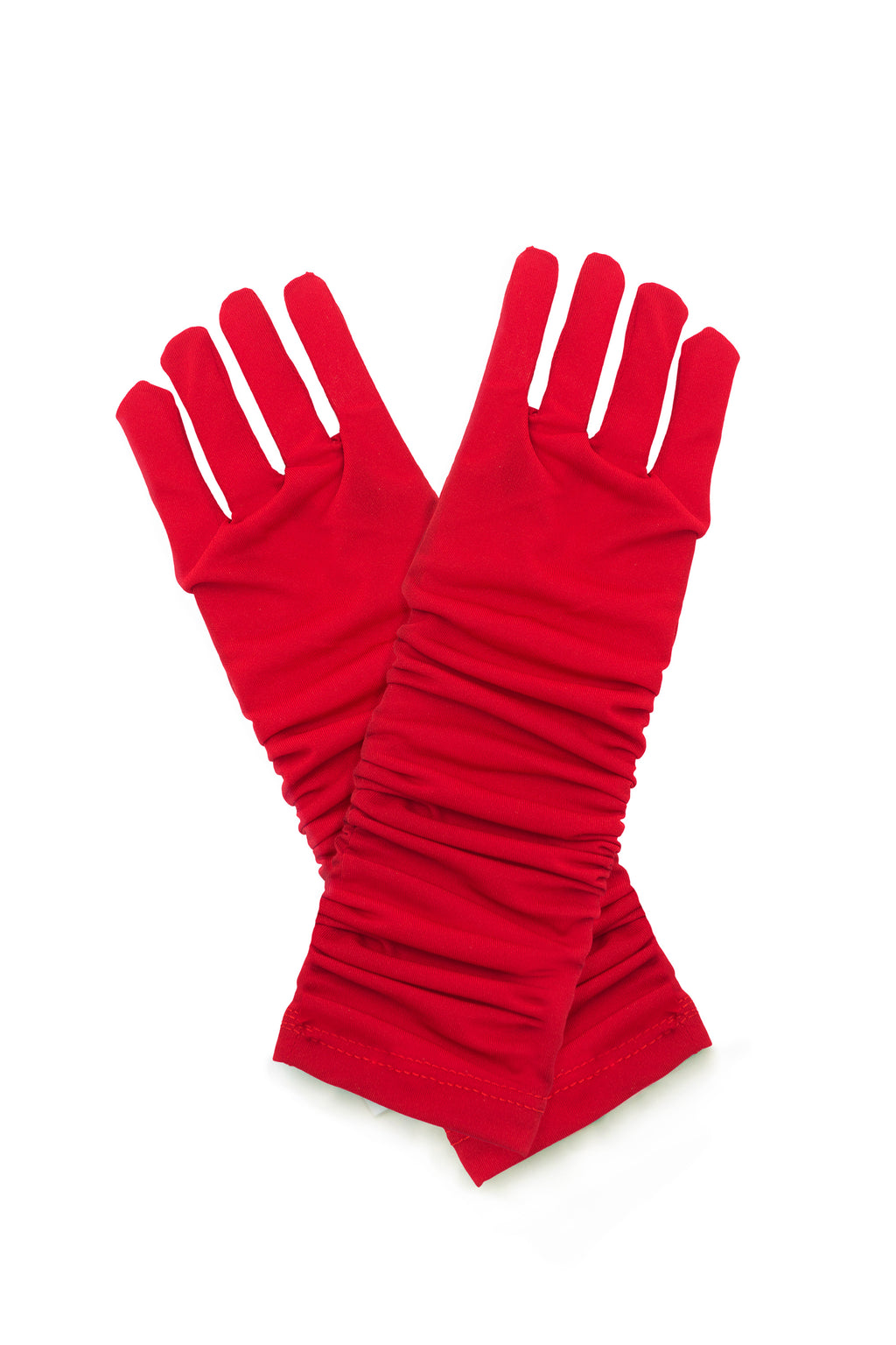 Princess Gloves Red