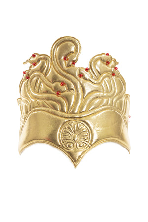 Adult Gold Medusa Soft Crown