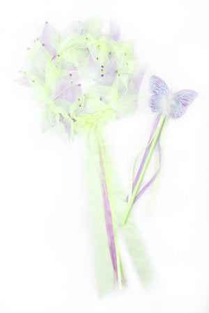 Load image into Gallery viewer, Green Fairy Halo & Wand