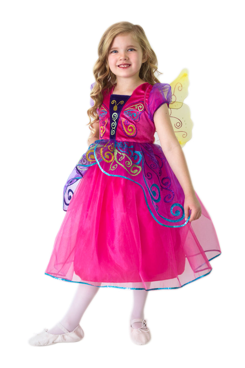 Story Book Butterfly Dress with Wings