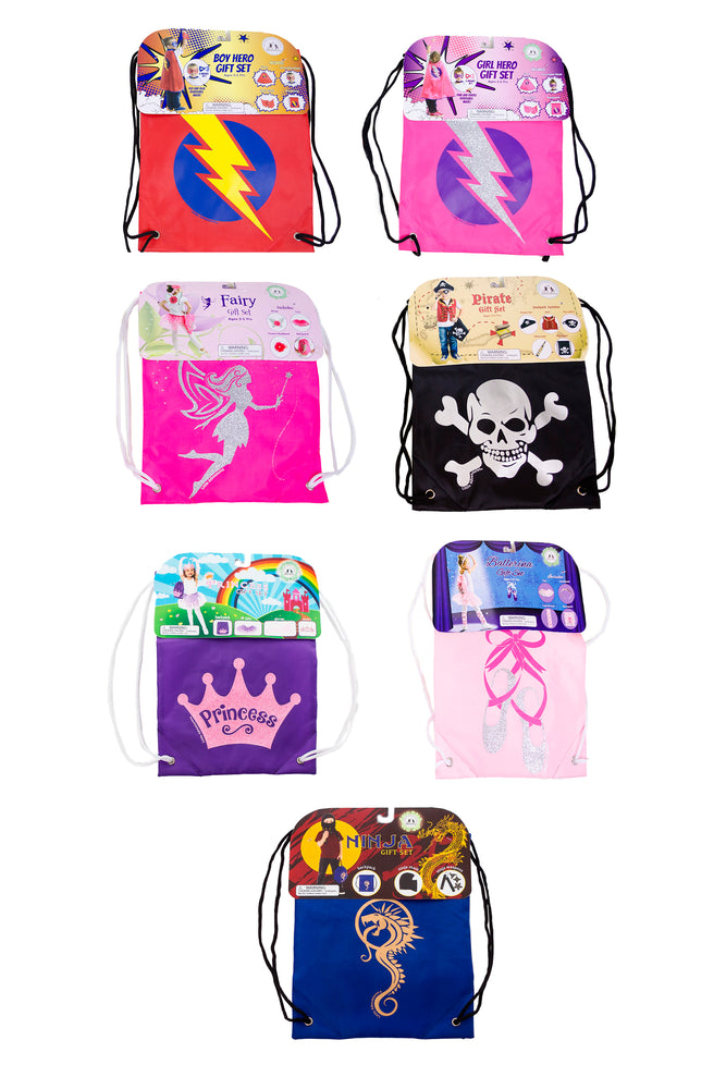 Drawstring Backpack Bundle