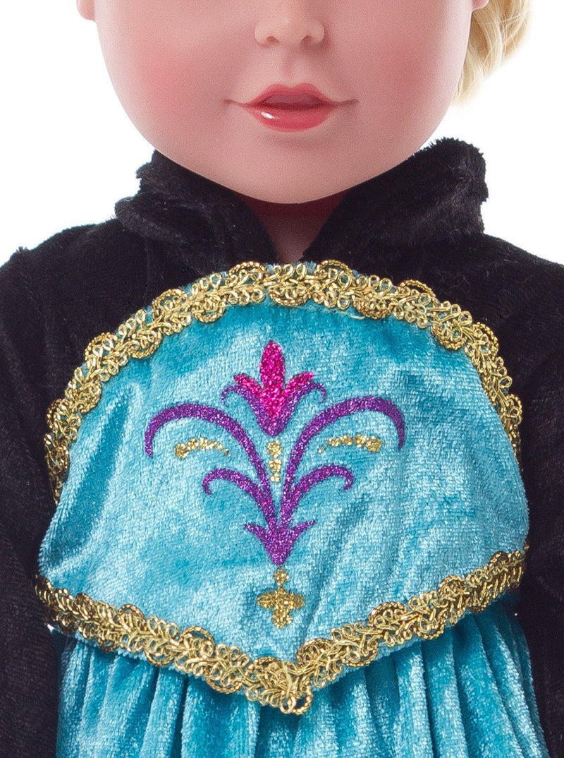 Doll Dresses & Accessories - Doll Dress Ice Princess Coronation
