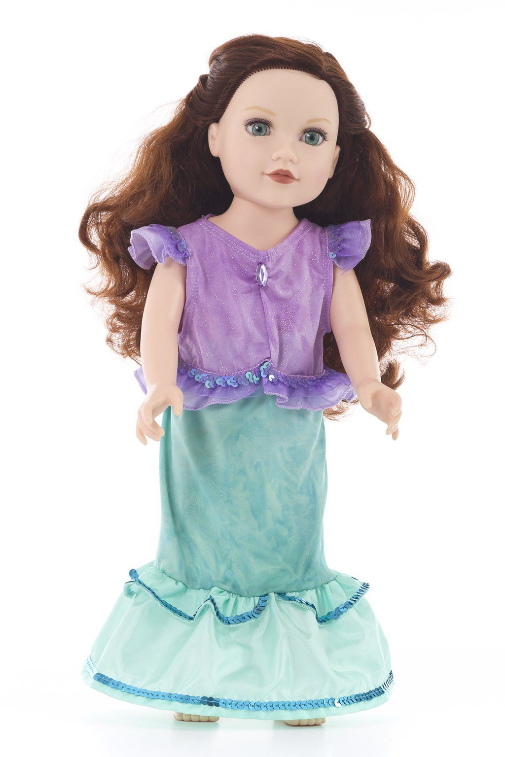 Doll Dresses & Accessories - Doll Dress Mermaid