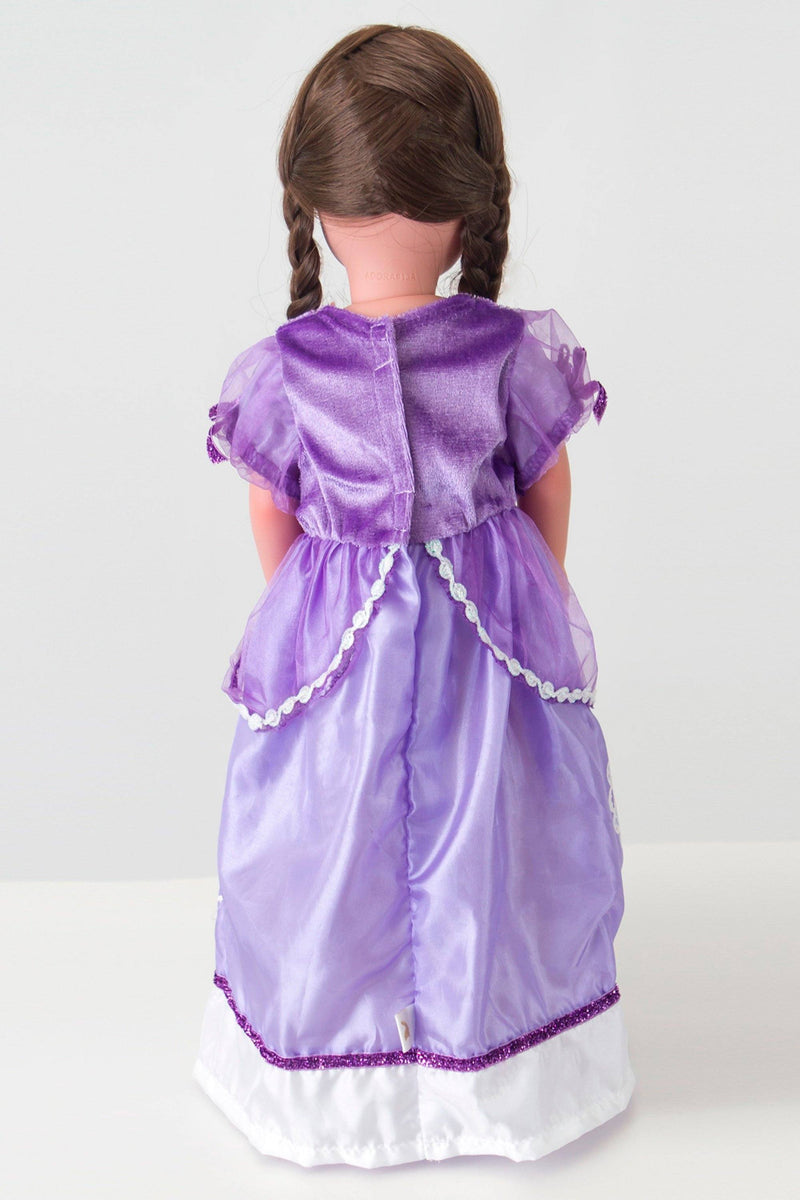 Doll Dresses & Accessories - Doll Dress Purple Amulet Princess