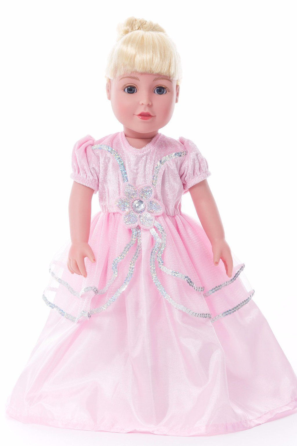 Doll Dresses & Accessories - Doll Dress Royal Pink Princess