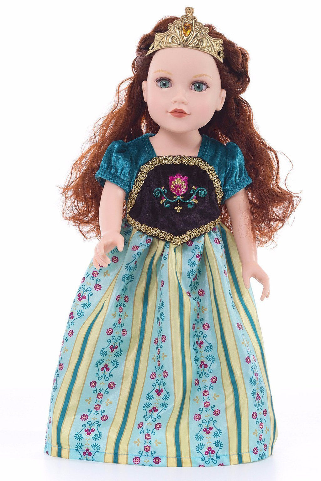 Doll Dresses & Accessories - Doll Dress Scandinavian Princess Coronation