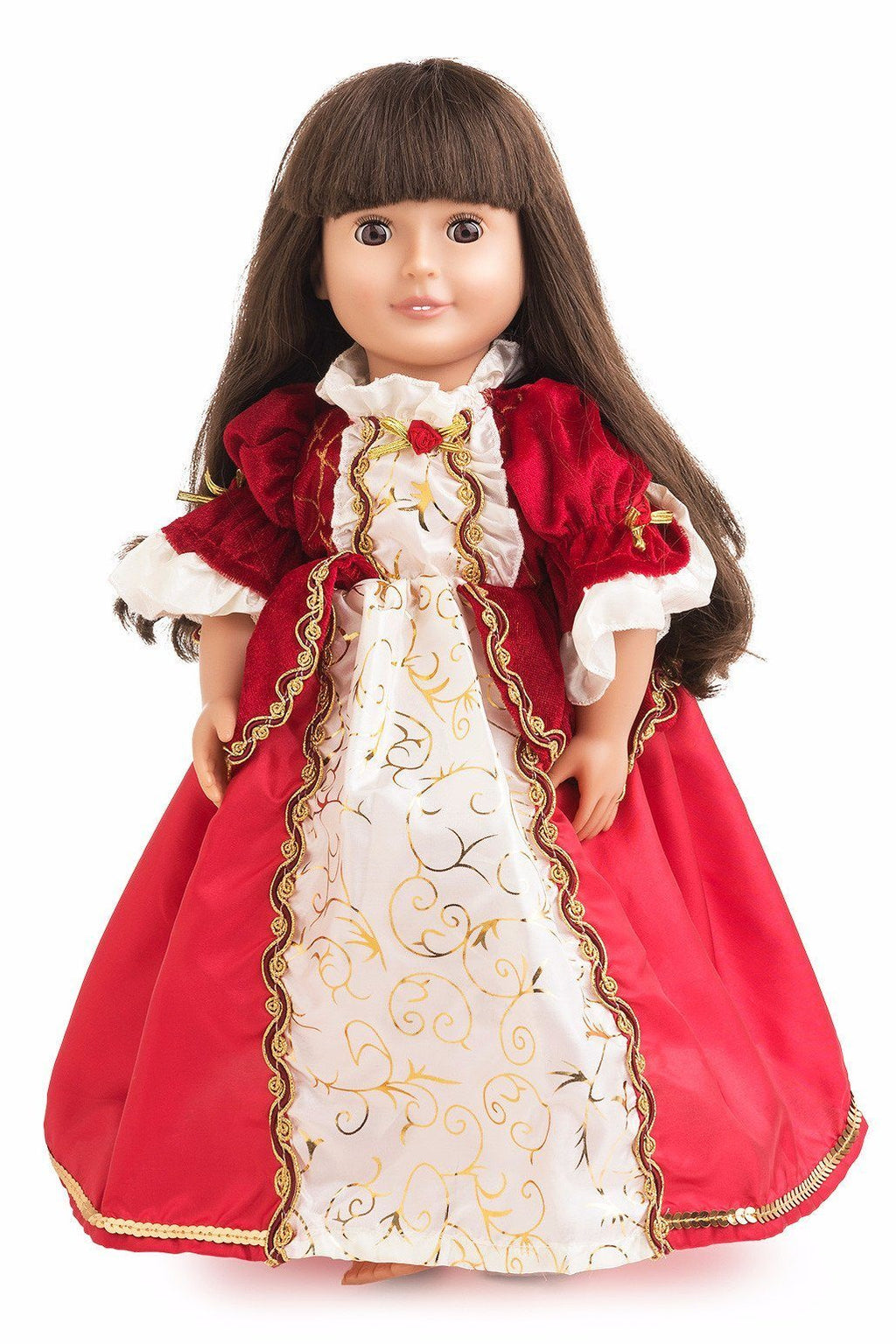 Doll Dresses & Accessories - Doll Dress Winter Beauty