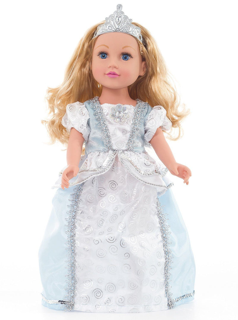 Doll Dresses & Accessories - Doll Shoes And Tiara Silver