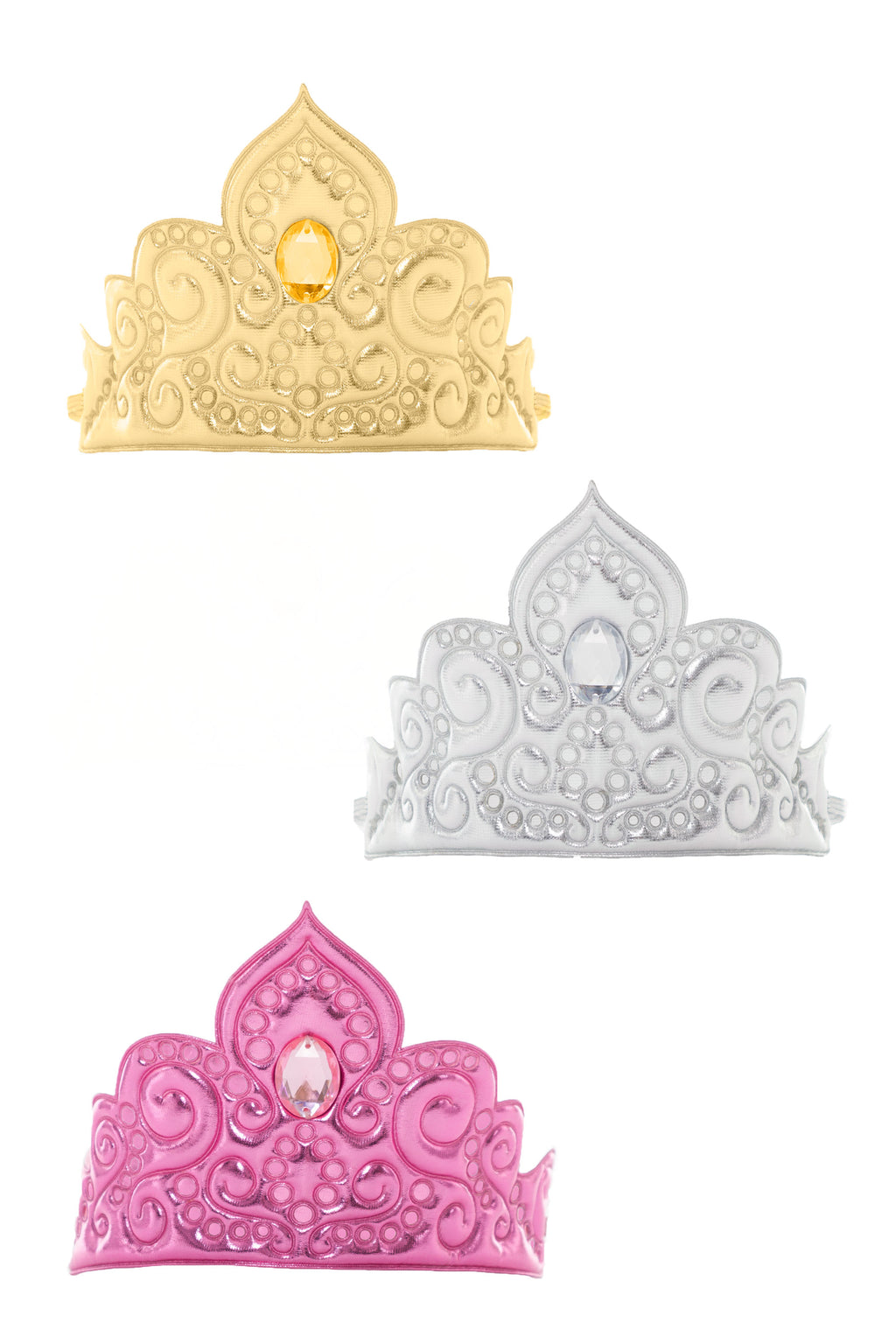 Princess Soft Diva Crown Bundle (Set of 3 Crowns)