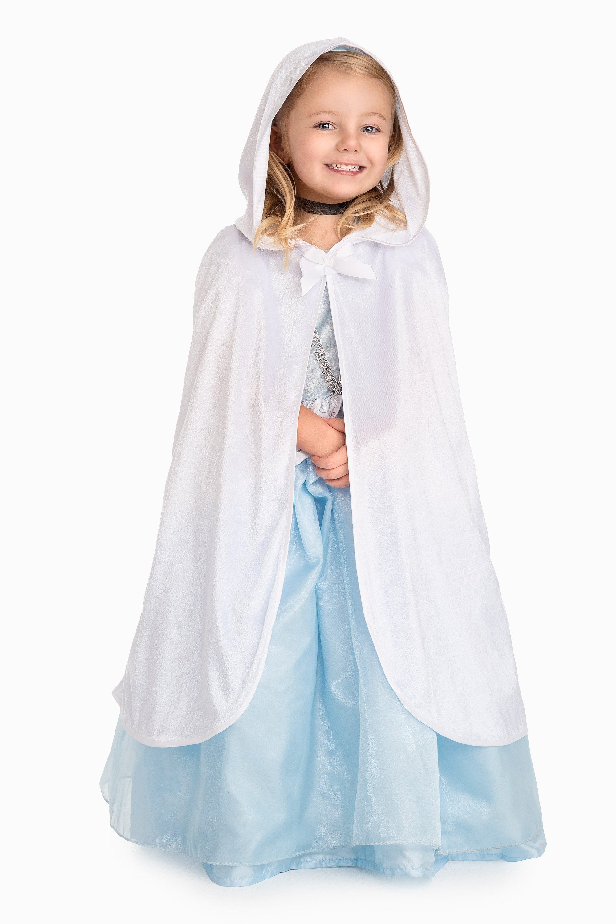 Princess Cloaks - Child Cloak White