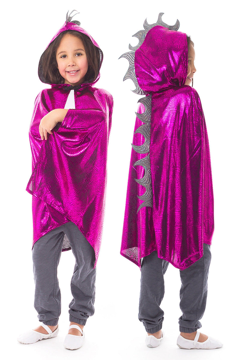 The Child Cloaks - Dragon Cloak Magenta/Silver
