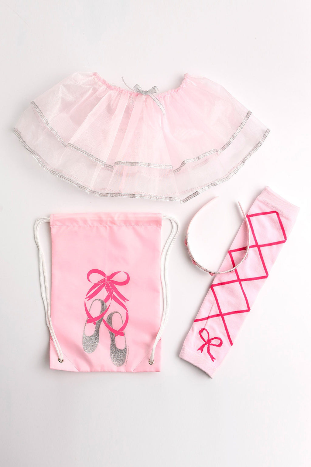 The Drawstring Backpack Gift Sets - Drawstring Backpack Ballerina Gift Set
