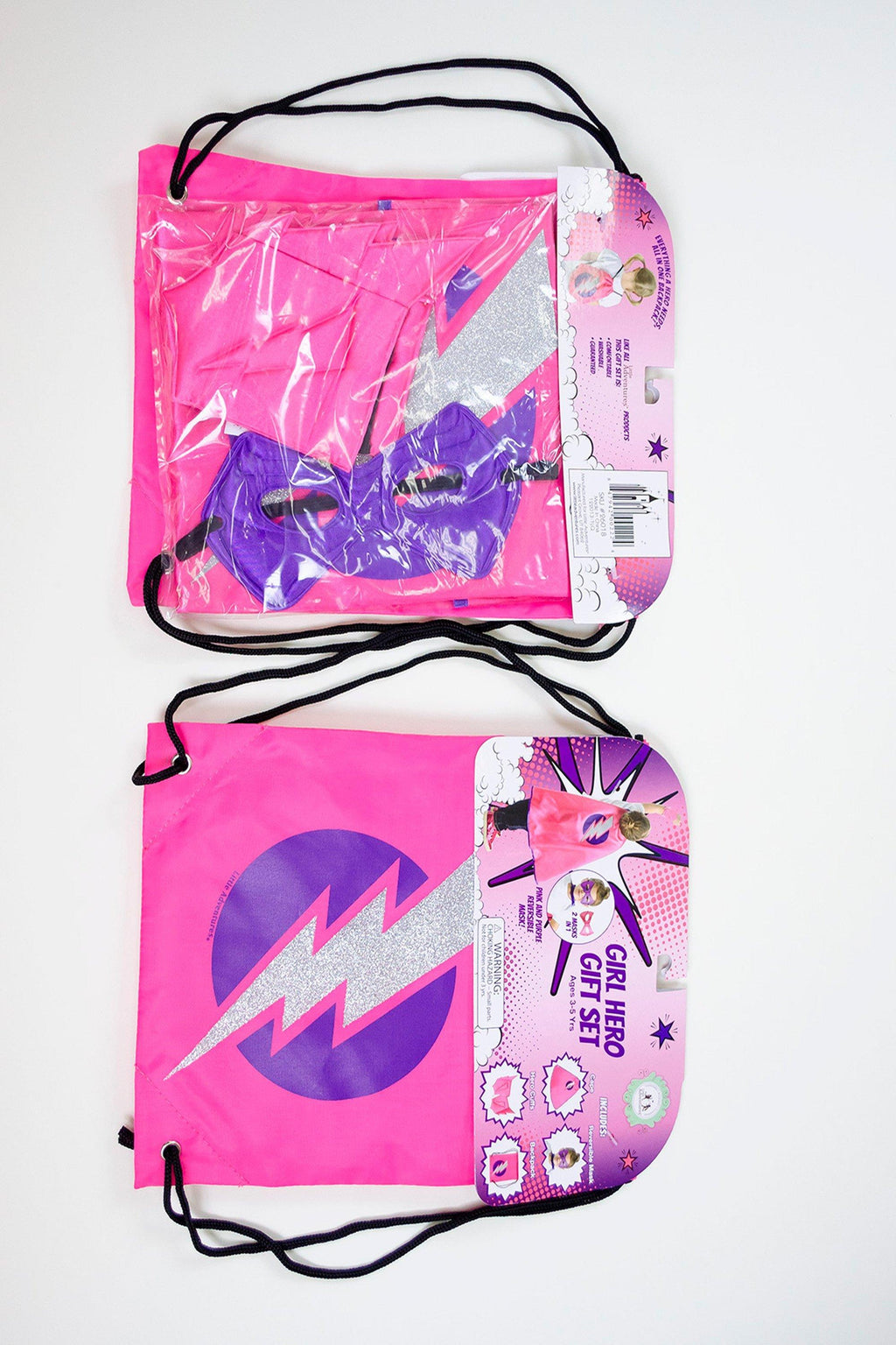 The Drawstring Backpack Gift Sets - Drawstring Backpack Girl Hero Gift Set