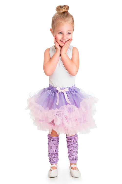 Fluffy Tutu Lilac/Pink Ages 3-8 Years