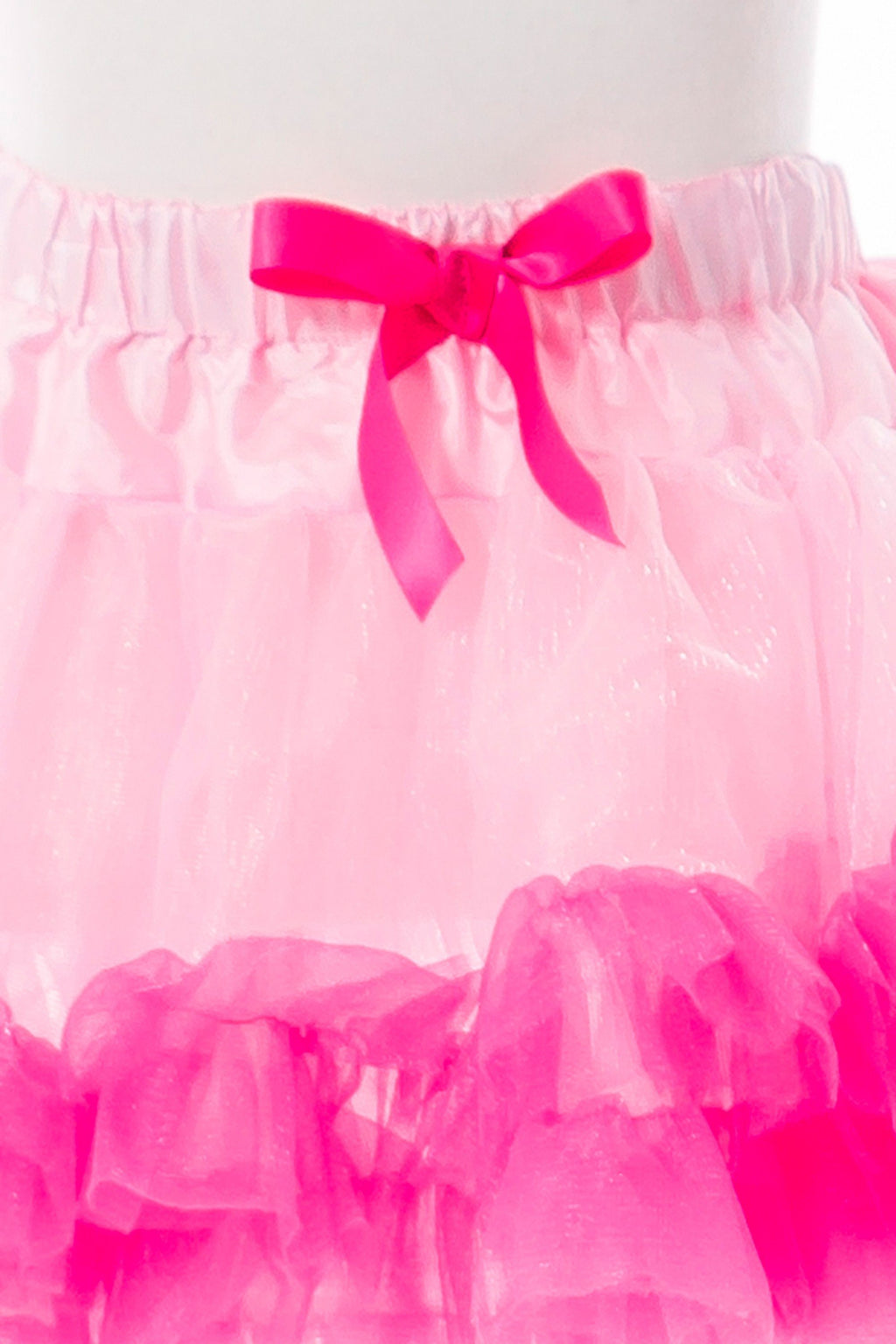 Tutu - Fluffy Tutu Pink/Hot Pink Ages 3-8 Years