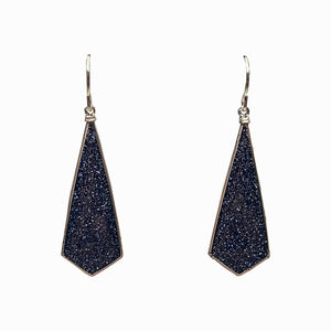 Diamond Drop- Midnight Blue Glitter