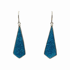Diamond Drop- Cerulean Glitter