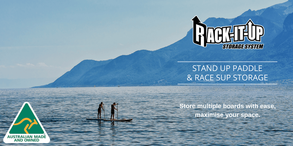 Stand Up Paddle & Race SUP Storage - Rack-It-Up Systems Pty Ltd