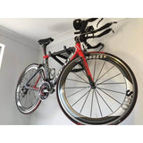 Bike Storage Rack with Bike  - Rack-It-Up Systems Pty Ltd