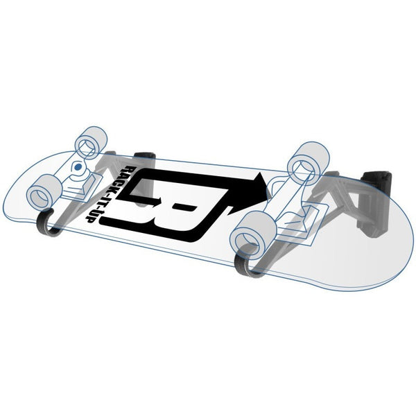 Skateboard Storage Rack - Rack-It-Up