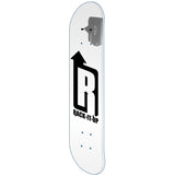 Vertical Skateboard Deck Display Rack with single Skateboard Deck