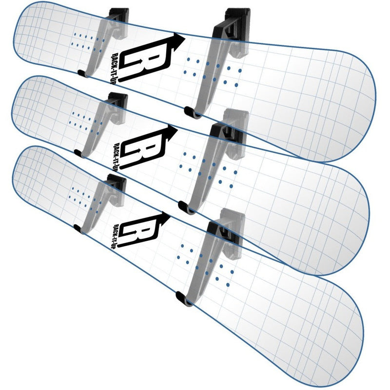 Snowboard Deck Display Rack - Rack-It-Up
