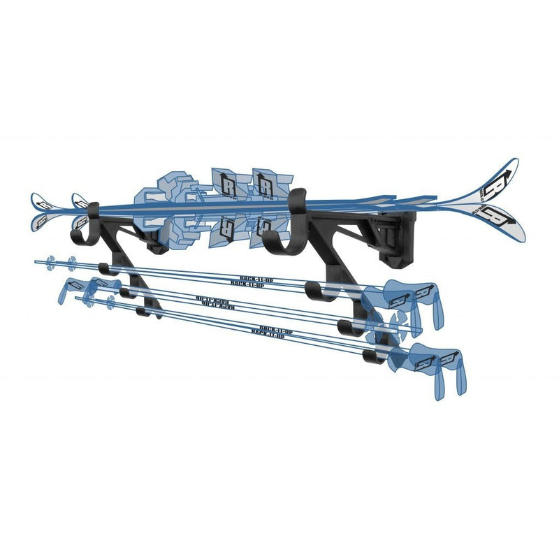 Ski Storage Rack - Rack-It-Up