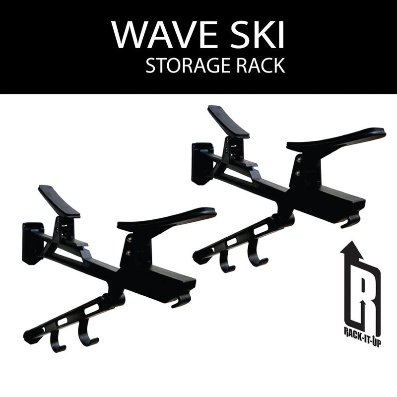 Wave Ski Storage Rack - Rack-It-Up
